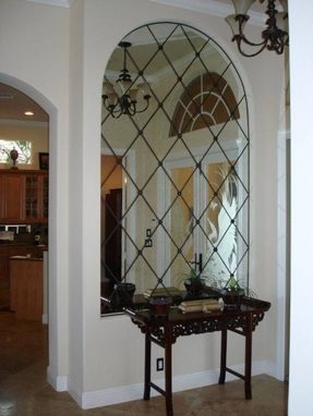 Custom Made Mirrors For Foyer, Stairwell, Mantles And Niches Anywhere