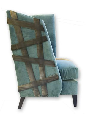 Custom Made Off The Grid Wing Chair
