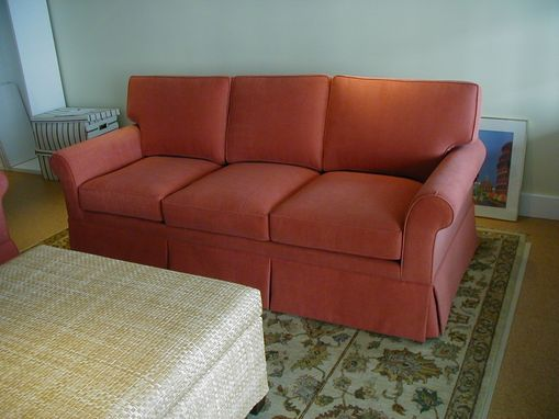 Custom Made Upholstered Pillow Back Lawson Sofa & Love Seat