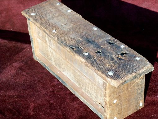 Custom Made Repurpose Barnwood Box
