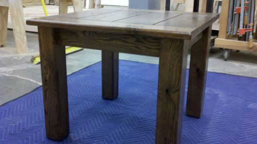 Custom Made Rustic Side Table