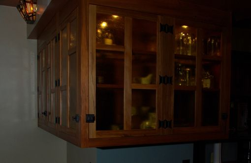 Custom Made Glass Hanging Cabinet