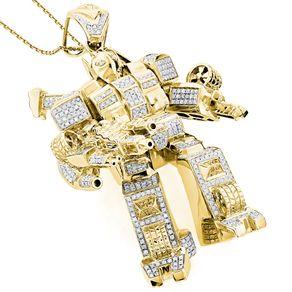 Custom hip hop chains bling pendants custommade 3 d transformer diamond pendant mozeypictures Gallery