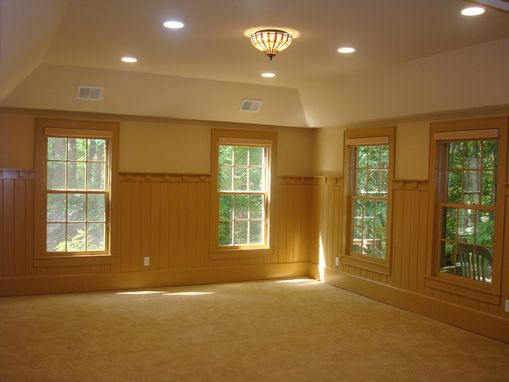 Custom Made Paneled Wall