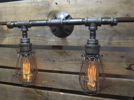 Custom Made Edison Industrial Vanity Lighting