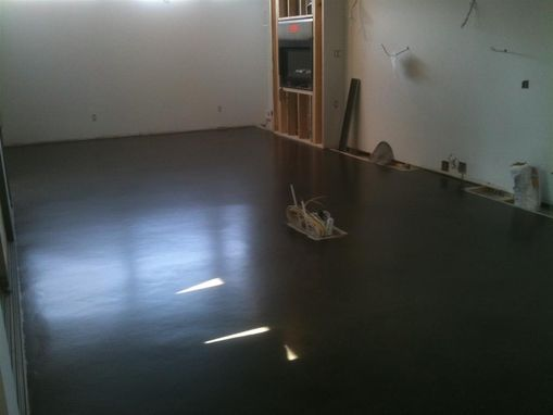 Custom Made Ecopolish Satin Concrete Floor Residential