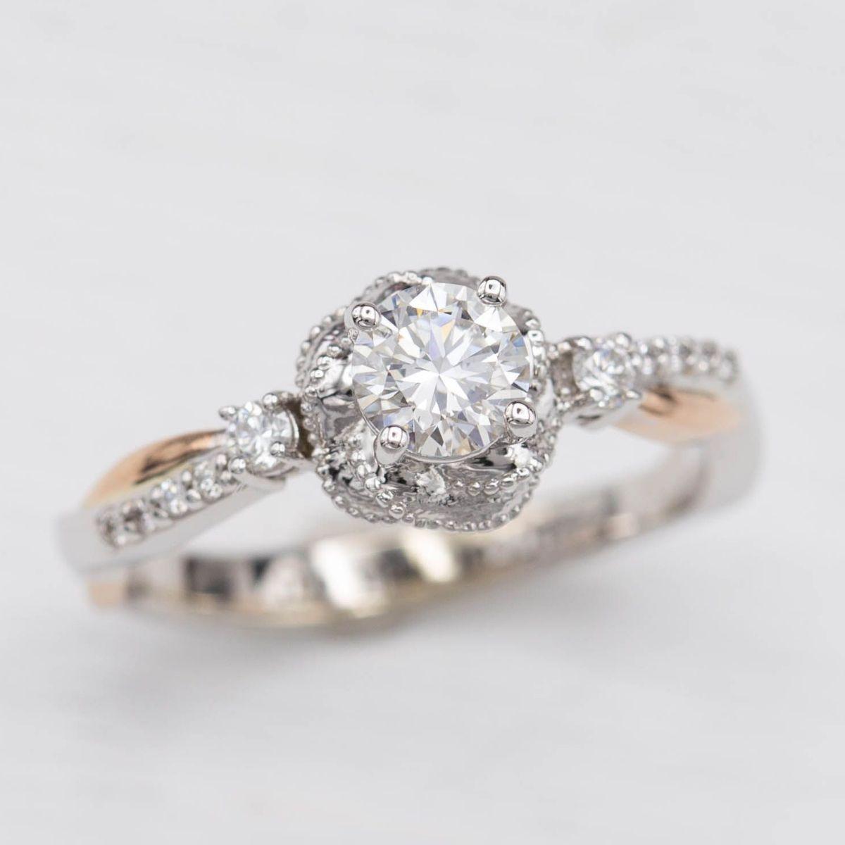 d083227d132e Flower Engagement Rings