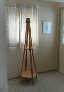 Custom Made Hall Tree Coat Rack