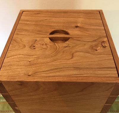 Custom Made Cherry Dovetail Keepsake Box