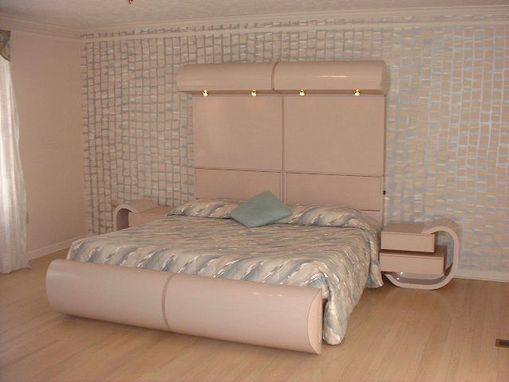Custom Made Master Bedroom King Size Bed