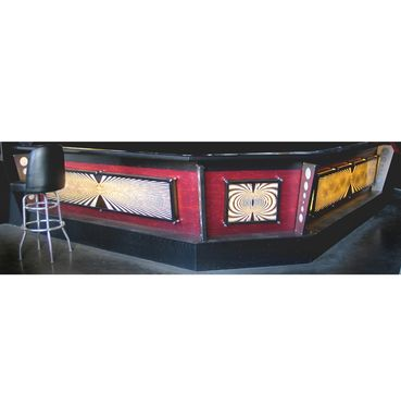 Custom Made Commercial Bar W/ Light Panels
