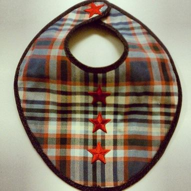 Custom Made Sal Baby Bib
