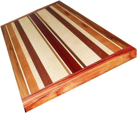 Custom Made Exotic Wood Cutting Board ~ Double-Sided