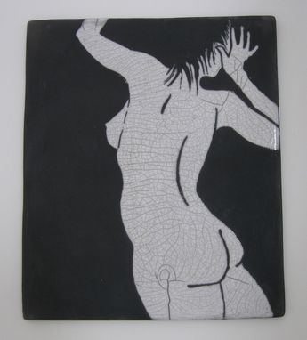 Custom Made Custom Raku Tiles - Nudes