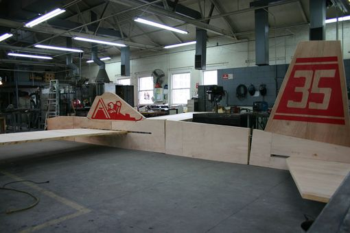 Custom Made Giant Balsa Air Plane