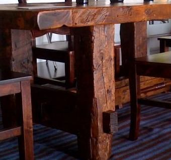 Custom Rustic Barnwood Dining Table By Greater Yellowstone