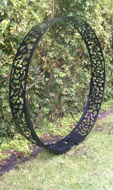 Custom Made Backyard Modern Metal Sculptures