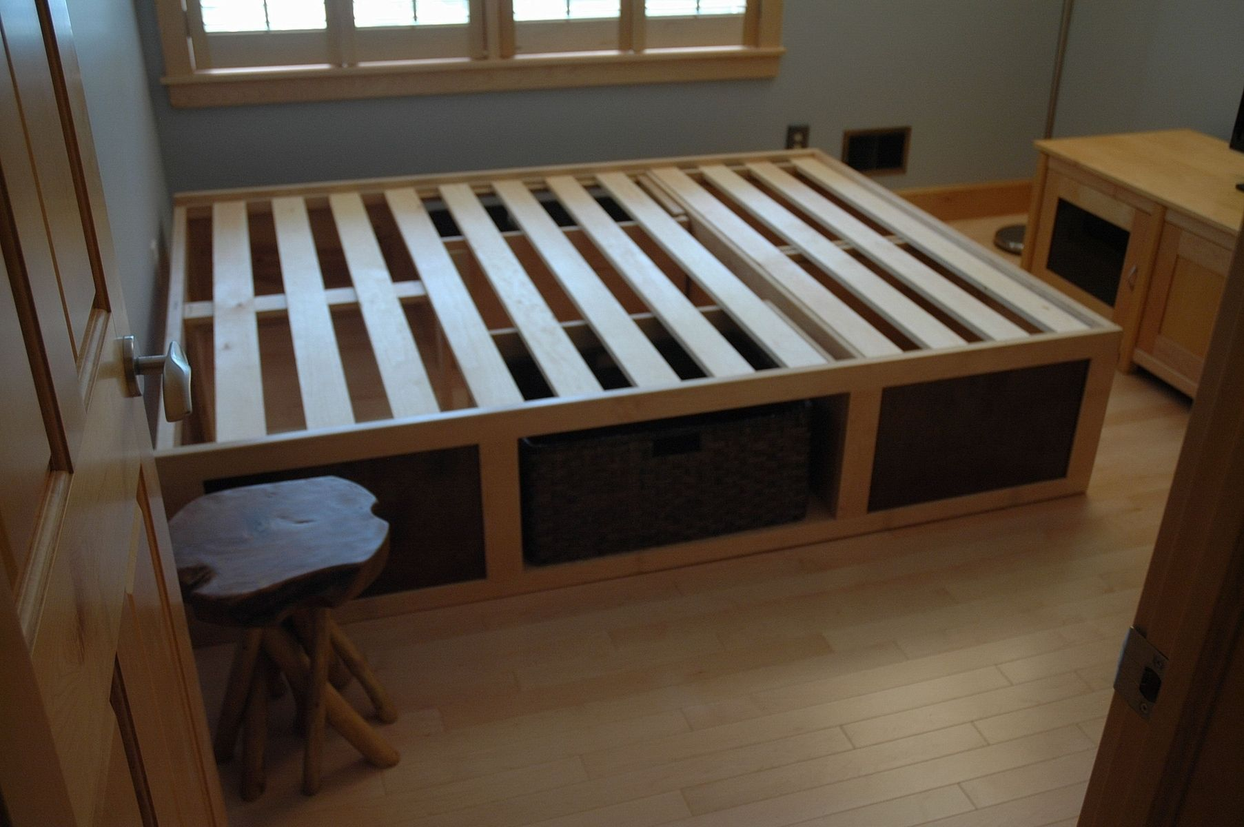 Hand Made Storage Bed By Wooden It Be Nice Custommade Com
