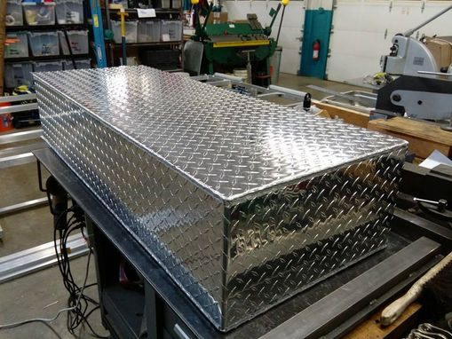 Custom Made Custom Vehicle Fabrication: Aluminum Boat Rack