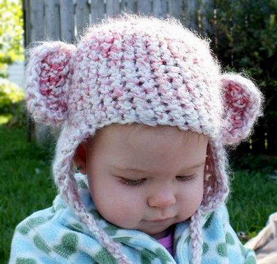 Custom Made Monkey Hat Newborn Baby Monkey See Monkey Do