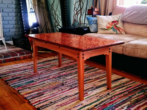 Custom Made Floating Top Coffee Table