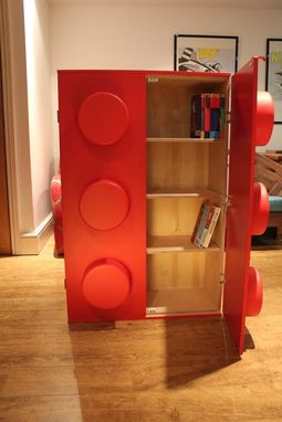 Custom Made Ogel Bookcase