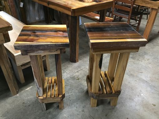 Custom Made Poplar Accent Table/Plant Stand