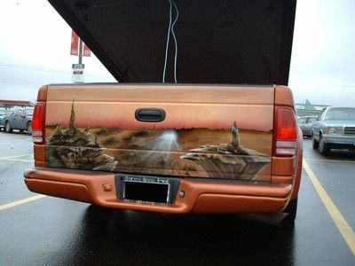 Custom Made Tailgate Airbrushed