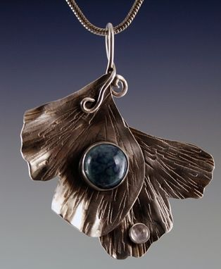 Custom Made Gingko Pendant
