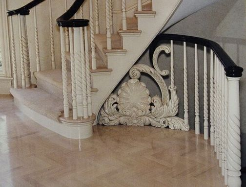 Custom Made Architectural Stair Filler