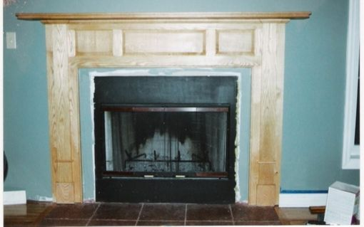Custom Made Custom Fireplace Surround And Mantle