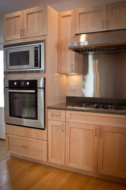Custom Made White Maple Kitchen Lancaster, Nh