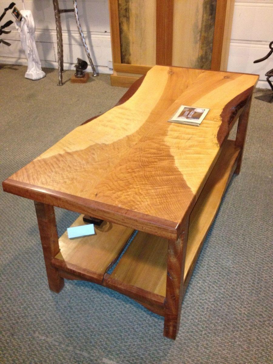 Custom Made Slab Top Coffee Table Phoenix Table By