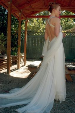 Custom Made 1930'S Inspired Slip Chemise Bridal Gown