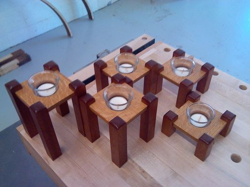 Custom Made Votive Candle Center Pieces