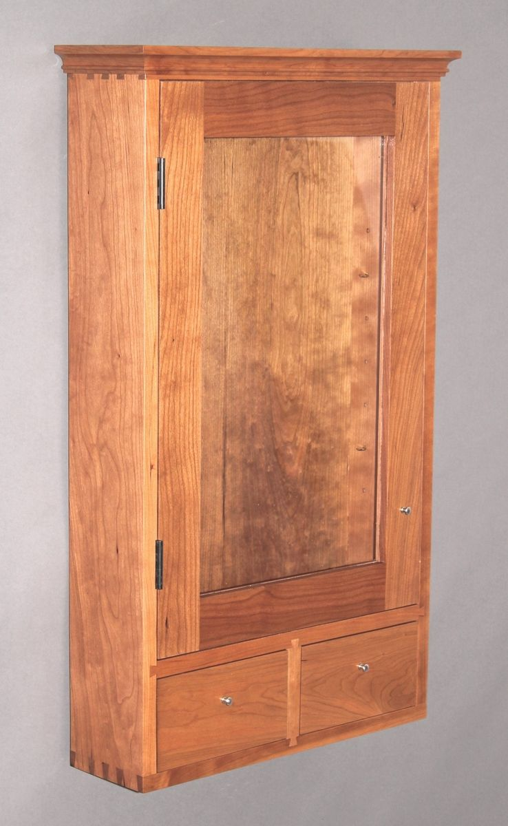 Custom Made Wall Cabinet Medicine Cabinet By Blue Spruce