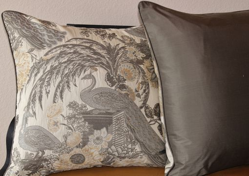 Custom Made Chateau: Peacock Pillow