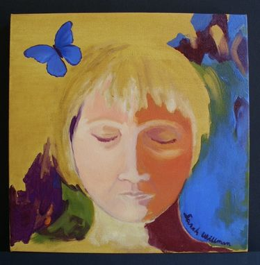 Custom Made Oil On Canvas Interpretive Portrait For Bedroom