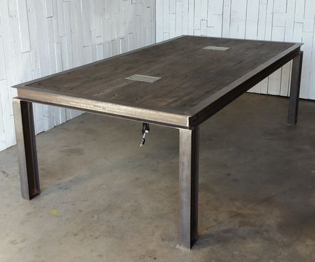Custom Made Steel Conference Table
