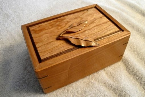 Custom Made Cherry Leaf Box