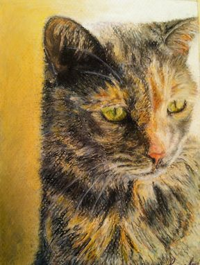 "Custom Made Custom Pet Portrait - ""Smudge"""