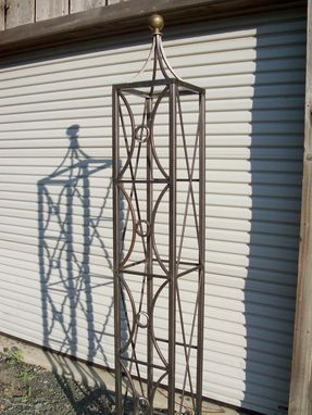 Custom Made Rose Trellis