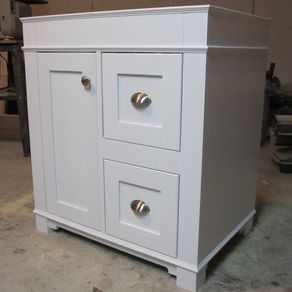 Custom Made Bathroom Vanity Units custom bathroom cabinetry | custommade