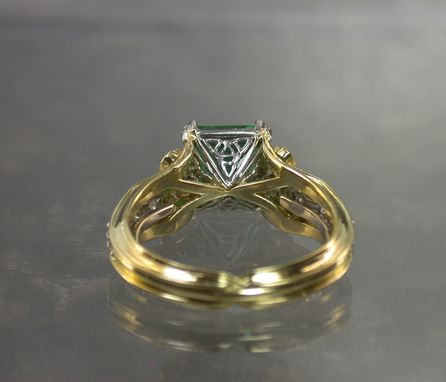 Custom Made Emerald Ring (A Bit Of The Irish)