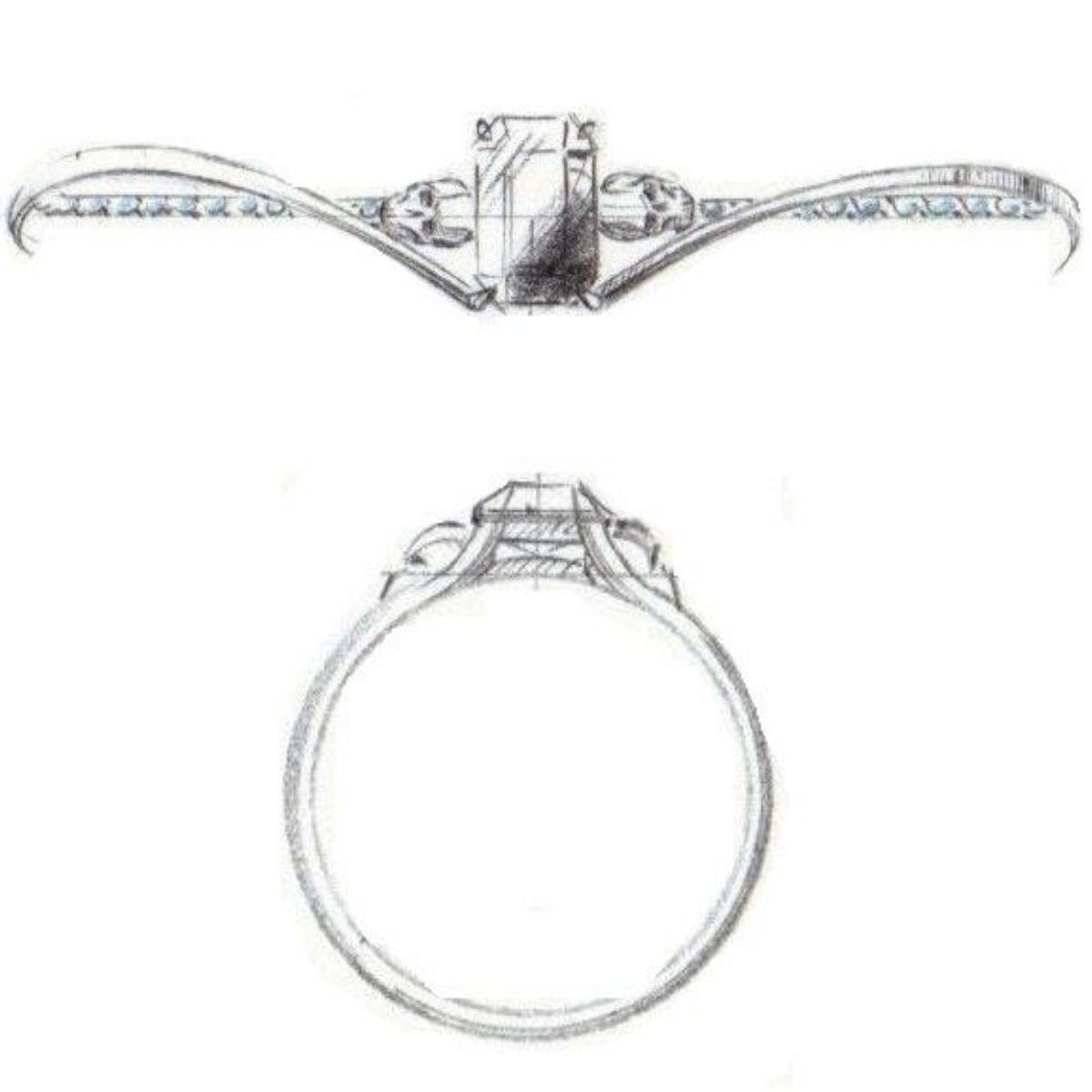 Skull Engagement Rings Custommade Com