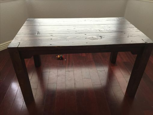 Custom Made Custom Table With Extension Leaves