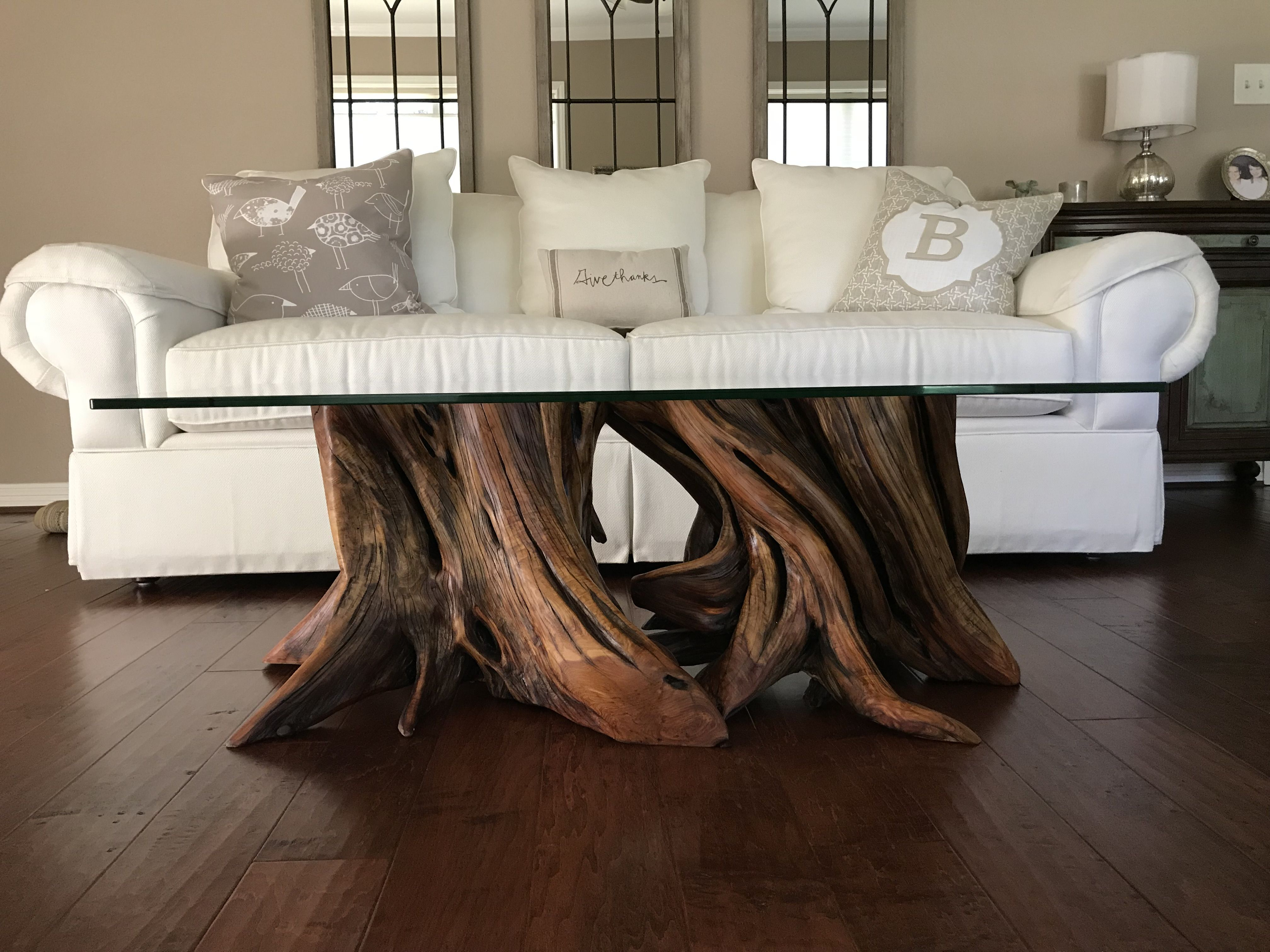 Buy A Custom Tree Root Coffee Table Made To Order From