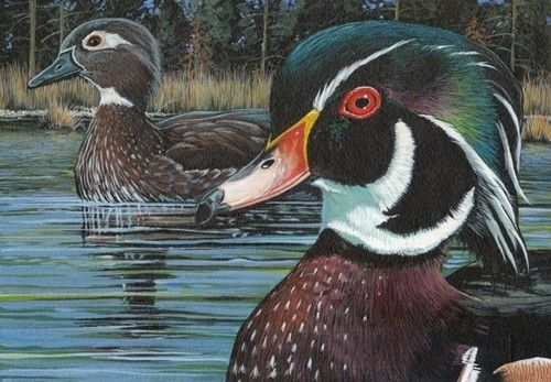 Custom Made Wood Ducks