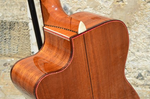 Custom Made Pinol Guitars And Ukuleles Om-000 Body Style Solid Honduran Mahogany (Free  Shipping)
