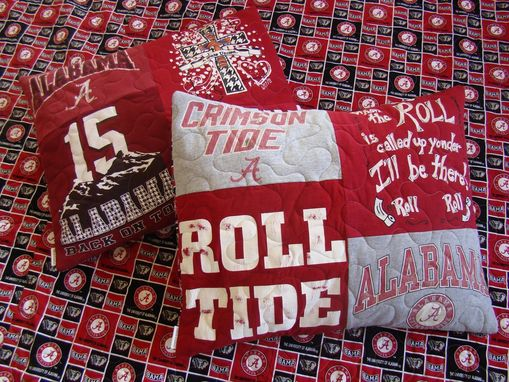 Custom Made Tshrit Quilt Pillow Sham